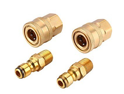 Quick Connector for Pressure Washer Hose Nozzle